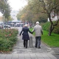 いつまでも手を繋いで歩く夫婦でいたいの画像